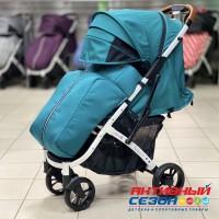 Прогулочная коляска Babalo 2020 Изумруд (рама белая)