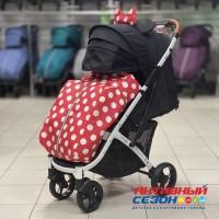 Прогулочная коляска Babalo 2020 Минни (рама белая)