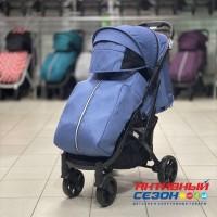 Прогулочная коляска Babalo 2020 Синий (рама хром)