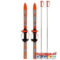 Лыжи детские «Вираж-спорт» с палками, 100/100 см