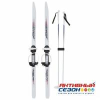 """Лыжи с палками """"Ski Race"""" подростковые (120/95)"""