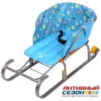 Сиденье для санок СС2-1 (Зимний голубой)