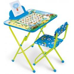 Комплект детской мебели Ника Детям «Веселая азбука» (КУ2/ВА)