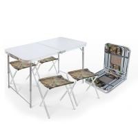 Складной стол + 4 стула (ССТ-К)