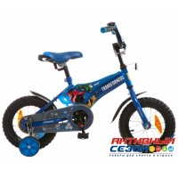 """Велосипед 12"""" Transformers (синий) 098567"""