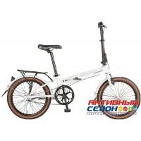 """Велосипед складной Novatrack Nexus TG-20"""" (2018) (20'' 3 скор.) (Цвет: Белый) Рама Алюминий"""