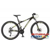 """Велосипед Stinger Zeta HD (27.5"""" 27 скор.) (Р-р = 18""""; Цвет: Черный) Рама Алюминий"""
