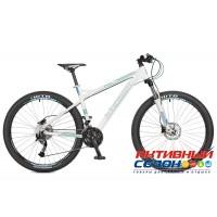 "Велосипед Stinger Omega HD (27.5"" 27 скор.) (Р-р = 16"" Цвет: Белый) Рама Алюминий"