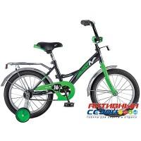 """Велосипед Novatrack Strike 16"""" (белый-красный; белый-зеленый; черный-красный; черный-зеленый)"""