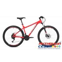 """Велосипед Stinger ZETA STD (2018) (27,5"""" 27 скор.) (Р-р = 18""""; Цвет: Красный) Рама Алюминий"""