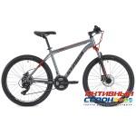 "Велосипед Stinger Graphite Evo (27"" 21 скор.) (Р-р = 18"" Цвет: Серый) Рама Алюминий"