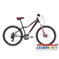 """Велосипед Stinger Vesta Pro (26"""" 21 скор.) (Р-р = 15; 17; Цвет: Черный) Рама Алюминий"""