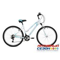 "Велосипед Stinger Laguna (26"" 18 скор.) (Р-р = 15""; 17""; Цвет: Белый; Розовый) Рама Алюминий"