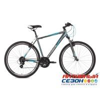 "Велосипед Stinger Campus Std 56 (28"" 21 скор.) (Цвет: Серый) Рама Алюминий"