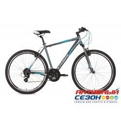 "Велосипед Stinger Campus Std 52 (28"" 21 скор.) (Р-р = 52""; Цвет: Серый) Рама Алюминий"