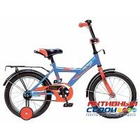 Велосипед Novatrack Astra 18'' (Синий; Белый)