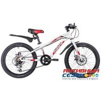 """Детский велосипед NOVATRACK PRIME 2019 (20"""" 6 скор.) (Цвет: Белый) Рама алюминий"""