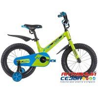 """Детский велосипед Novatrack Blast 16"""" (Зеленый, оранжевый, фуксия, белый-фуксия) Рама Магний-Алюминиевая"""