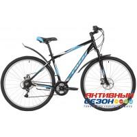 """Велосипед Foxx Atlantic D (29"""" 18 скор.) (Р-р = 18""""; 20""""; Цвет: Черный) Рама Алюминий"""