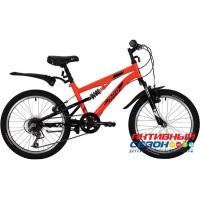 Велосипед Novatrack Titanium (20'' 6 скор.) (Цвет: Оранжевый) Рама Сталь