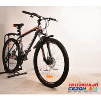 """Велосипед Rook MА261D (26"""" 21 скор.) (Цвет: серый/оранжевый) Рама алюминий"""