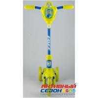 Самокат городской Foxx Baby, колеса EVA 115мм (лимонно-синий)