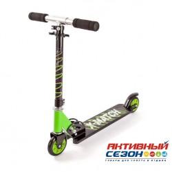 Скутер X-Match Next регулируемая по высоте ручка (зеленый) 64987