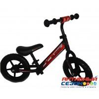 """Велобег 12"""" Slider колеса EVA с пластиковыми дисками (матовый черный)"""