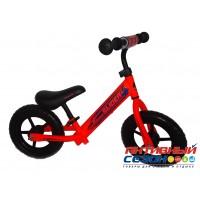 """Велобег 12"""" Slider колеса EVA с пластиковыми дисками (матовый оранжевый)"""