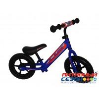 """Велобег 12"""" Slider колеса EVA с пластиковыми дисками (матовый синий)"""