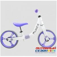 """Беговел 12"""" Milano 1.0 фиолетовый"""