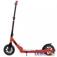 Самокат городской NOVATRACK POLIS колеса 200 мм (красный)