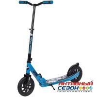 Самокат городской NOVATRACK POLIS колеса 200 мм (синий)