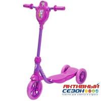 Самокат городской Foxx Baby с пластиковой платформой и EVA колесами 115мм (фиолетовый)