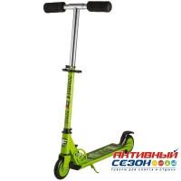 Самокат городской Foxx Zomby Zone колеса100мм (зеленый)