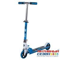 Самокат городской NOVATRACK JUNGLE колеса 125 мм (синий)