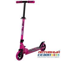 Самокат городской NOVATRACK JUNGLE колеса 145 мм (розовый)