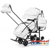 Санки-коляски Pikate Deluxe (White)