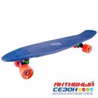 Скейтборд пластиковый Tech Team Classic 27 TLS-402 (Цвета в асс.)