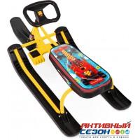 Снегокат «ТИМКА СПОРТ» высокий ТС1 Nika Kids F1 (желтый каркас)