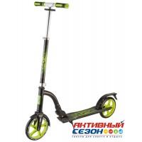 Самокат городской NOVATRACK VERSA колеса 200 мм (зеленый)