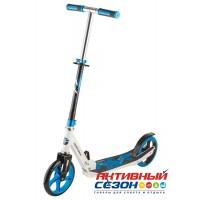 Самокат городской NOVATRACK POLIS колеса 200 мм, (синий)
