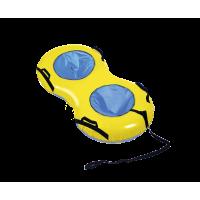 Тюбинг - Ватрушка (тент) двойные R20 с клапаном (синий)