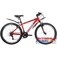 """Велосипед Stinger Caiman (26"""" 18 скор.) (Р-р = 16"""" 18""""; Цвет: Черный, Красный) Рама Сталь"""