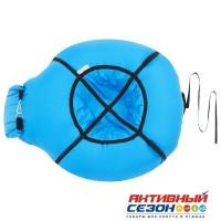 Надувные санки-бубинг, d=100 см, цвет голубой