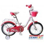 """Велосипед TechTeam Firebird (20"""", 1 скор.) (Цвет: Бело-красный, Морская волна) Рама сталь"""