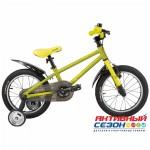 """Велосипед TechTeam Gulliver (20"""", 1 скор.) (Цвет: Зеленый, Серый, Синий) Рама алюминий"""