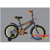 """Детский велосипед 12"""" SAFARI proff NEON (оранжевый)"""