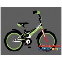 """Детский велосипед SAFARI proff SPORT 18"""" (синий, зеленый, красный)"""