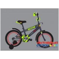 """Детский велосипед 20"""" SAFARI proff NEON (салатовый)"""